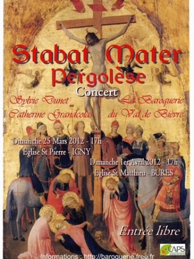 Concerts « Stabat Mater »