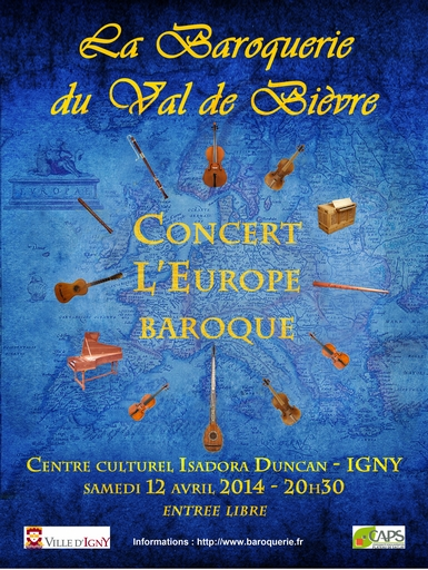 Concert l'Europe baroque