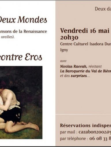 Spectacle « Quand Amour rencontre Eros »